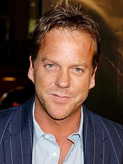 Kiefer Sutherland: I'm Not Back with My Ex-Wife