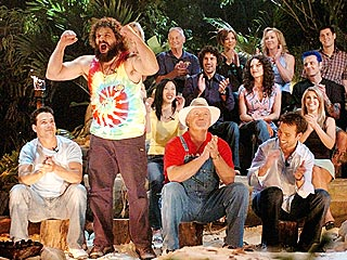 Rupert Gets the Survivor Booby Prize