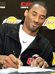Kobe Bryant Sticks with L.A. Lakers