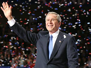 Bush Wins Election As Kerry Concedes