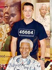 Brad Pitt Visits Africa to Help Fight AIDS