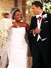 View's Star Jones Marries Banker Fiance
