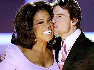 Oprah, Tom Cruise Celebrate Nobel Concert