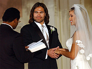 Red Sox Star Johnny Damon Gets Married