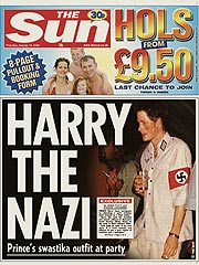 Prince Harry Condemned for Nazi Costume