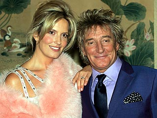 Rod Stewart, Penny Lancaster Expecting a Baby