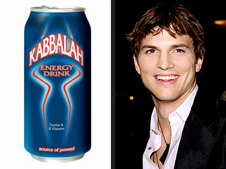Ashton: High on Kabbalah Energy Drink?