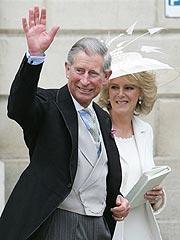 Charles & Camilla Wed Amid Cheers