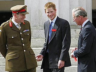 Britain's Prince Harry Is in the Army Now