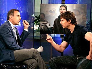 Tom Cruise Lashes Out at Matt Lauer