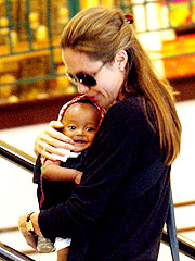 Angelina Takes Zahara Out on the Town