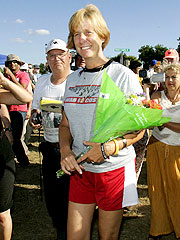 Cindy Sheehan Returns to Texas Protest