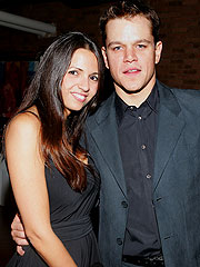 Matt Damon Engaged to Girlfriend Luciana