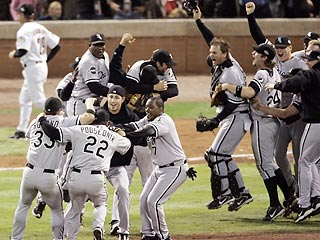 White Sox Win First World Series Since 1917