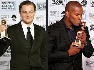 Leo, Swank, Foxx Score Golden Globes