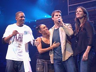 Tom Cruise & Katie Holmes Take Miami