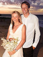 Skateboarder Tony Hawk Weds