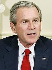 George W. Bush's Lawn Hit by Runaway Car