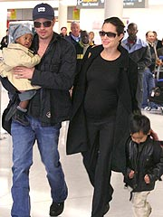 Angelina & Brad Shop for Baby