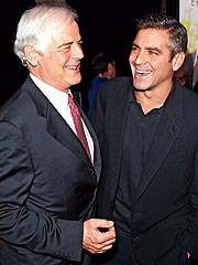 Clooney, Dad Speak Out for Darfur