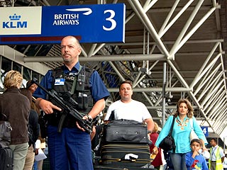 Terror Arrests Put Airports on Red Alert