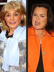 Barbara Walters-Rosie O'Donnell Clash Just a 'Squabble,' View Says