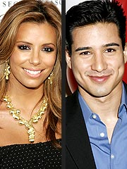 Eva Longoria Cheers on Mario Lopez