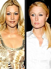 Shanna Moakler, Paris Hilton Have Dustup