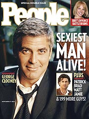 George Clooney Named PEOPLE's Sexiest Man Alive
