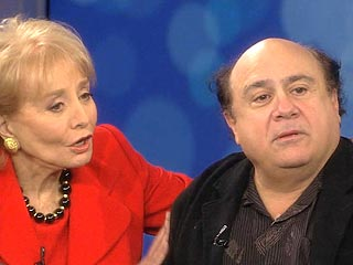 Barbara Walters: DeVito Welcome Back on View