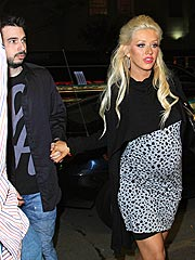 Christina Aguilera Finally Confirms: Yes, She's Pregnant