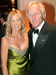 Chris Evert and Greg Norman Split