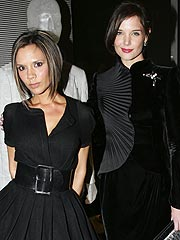 Katie Holmes, Victoria Beckham Take Paris