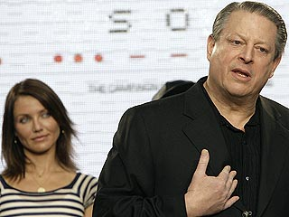 Al Gore, Cameron Diaz Announce Environmental Campaign
