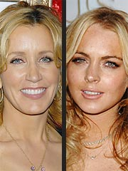 Felicity Huffman Calls Lindsay Lohan 'Brilliant'