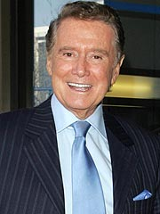 Regis Philbin Sweet on Idol's Jordin
