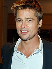 Brad Pitt Jets to Italy for Radiohead Concert