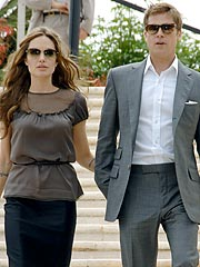 Angelina & Brad Show Their New Movie in Cannes