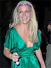 Britney Spears's Night on the Town