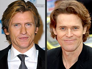 Denis Leary and Willem Dafoe: Separated at Birth?