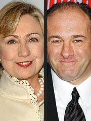 Hillary Clinton Spoofs Sopranos Finale