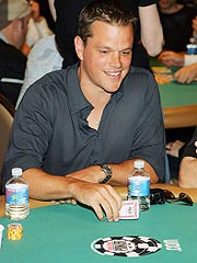 Matt Damon, Ben Affleck Play Poker for Africa