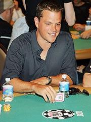 Matt Damon, Ben Affleck Play Poker for Africa