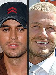 Enrique Iglesias Joins Beckham's Fan Roster