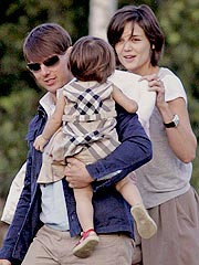 Tom Cruise & Katie Holmes Go Yachting on the Mediterranean