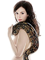 Mary-Louise Parker Faces Her Fear of Snakes