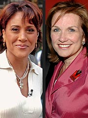 Robin Roberts Comforted by Elizabeth Edwards