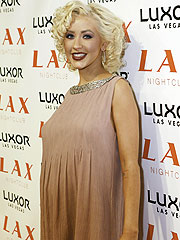 Paris Hilton Makes a Baby Announcement – for Christina Aguilera