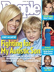 COVER STORY SNEAK PEEK: Jenny McCarthy Fights for Her Autistic Son