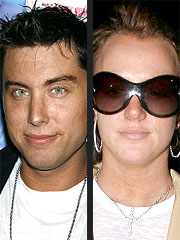 Lance Bass Visits with Britney Spears